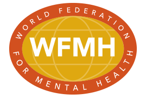 World Federation for mental health logo